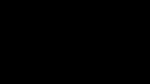 Logo światłowni w kolorze czarnym, wyglądające jak pięciolinia z kluczem muzycznym oraz nutami, które zmieniają się w odlatujące ptaki