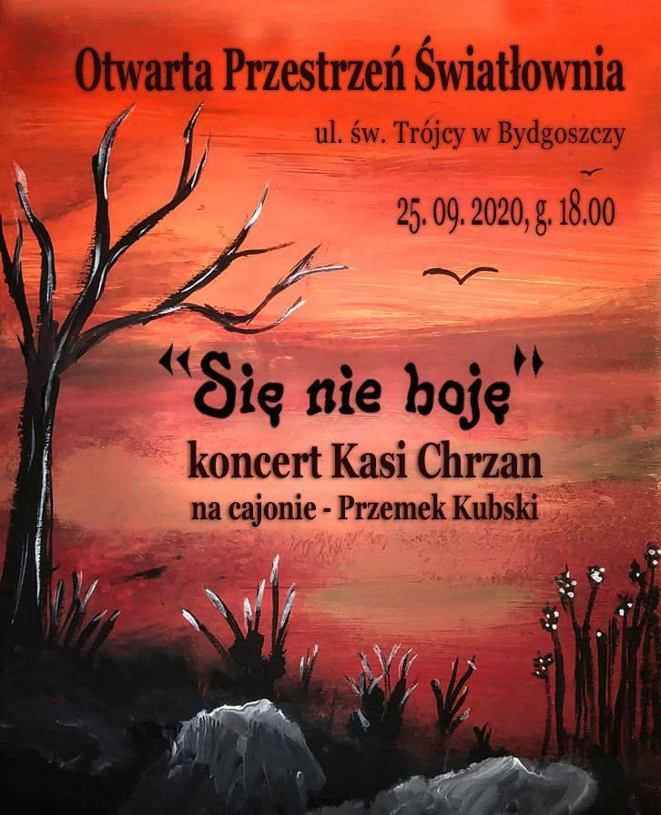 się nie boję - koncert Kasi Chrzan